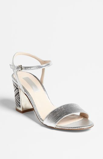 LK Bennett Mila Leather Sandal - Lyst