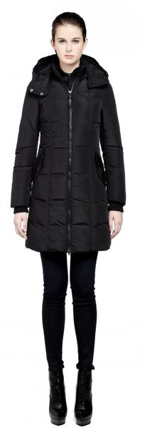 Mackage Capri Black Down Coat - Lyst