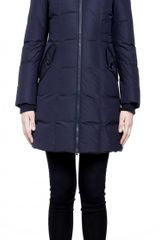 Mackage Capri Navy Down Coat - Lyst