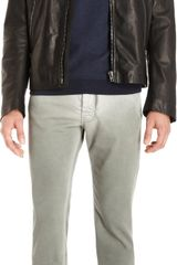 Maison Martin Margiela Leather Motorcycle Jacket - Lyst