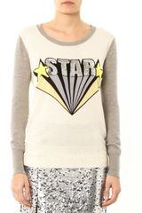 Markus Lupfer Star Sequin embellished Sweater - Lyst