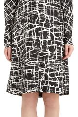Marni Twig Print Dress - Lyst