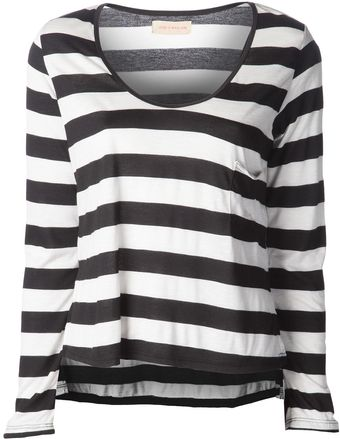 Otis & Maclain Kate Striped Tshirt - Lyst