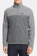 Patagonia Simple Synchilla Full Zip Jacket - Lyst