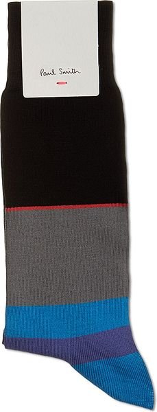 Paul Smith Colour Block Socks - Lyst