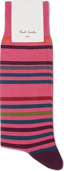 Paul Smith Striped Socks - Lyst