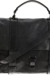 Proenza Schouler Ps1 Large Leather Limited Edition - Lyst