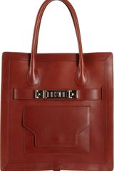Proenza Schouler Ps11 Tote Large Leather - Lyst