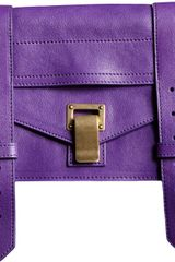 Proenza Schouler Ps1 Pochette Leather - Lyst