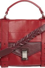 Proenza Schouler Ps1 Medium Deerskin - Lyst