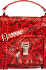 Proenza Schouler Ps1 Medium High Lighter Python - Lyst