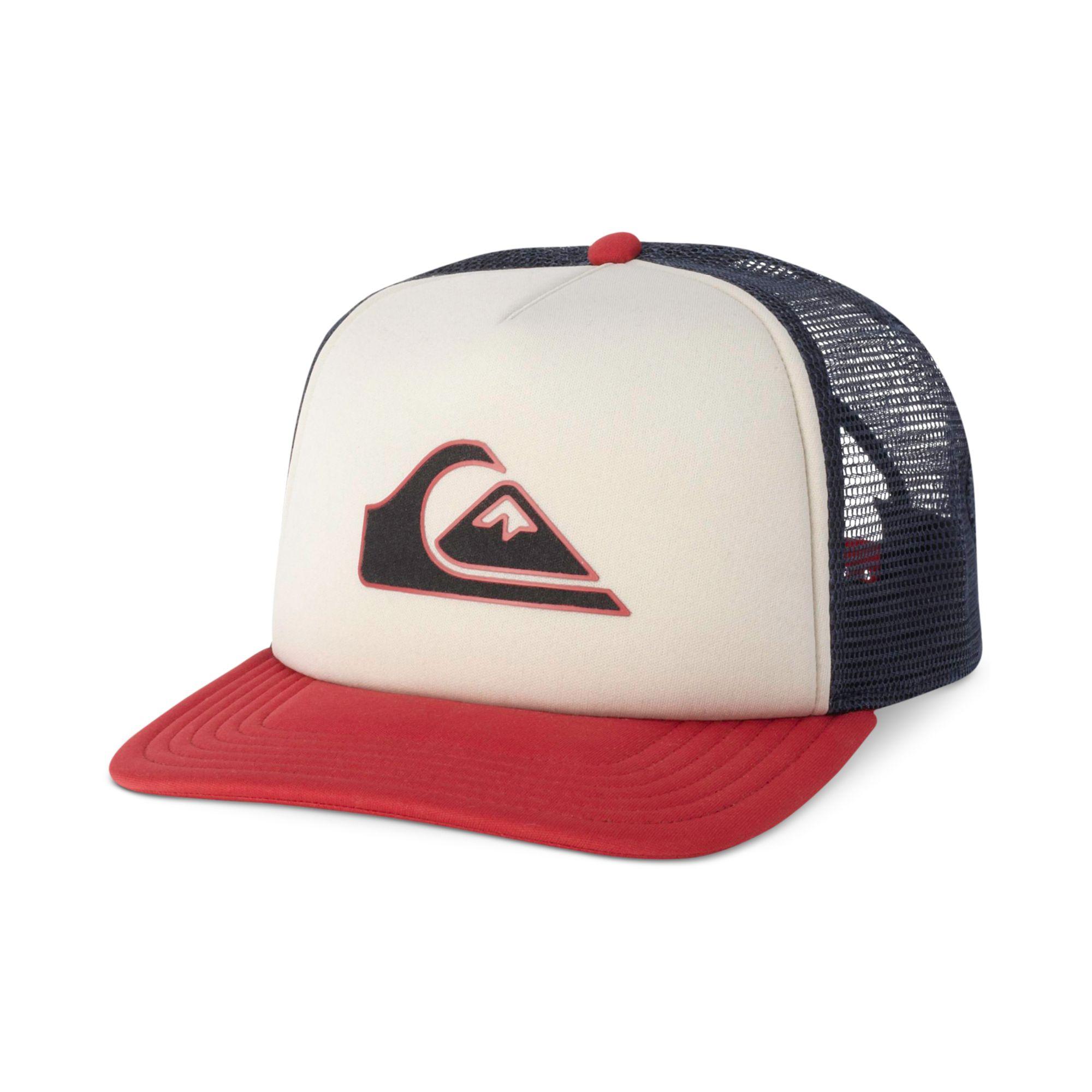 8f5cb8bd0f25b ... greece lyst quiksilver threve mesh trucker hat in white for men 0a884  ce866