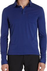 Ralph Lauren Black Label Long Sleeve Polo - Lyst