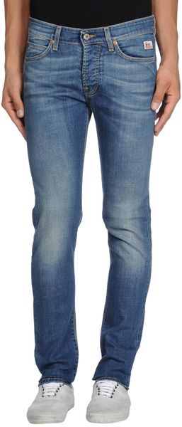 Roy Rogers Denim Trousers - Lyst