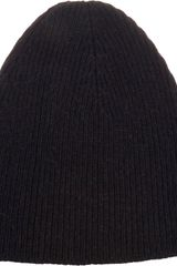 Saint Laurent Skully Hat - Lyst