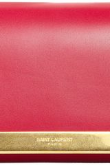 Saint Laurent Lutetia Flap Clutch - Lyst