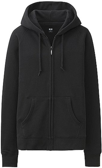 Uniqlo Sweat Long Sleeve Fullzip Hoodie - Lyst