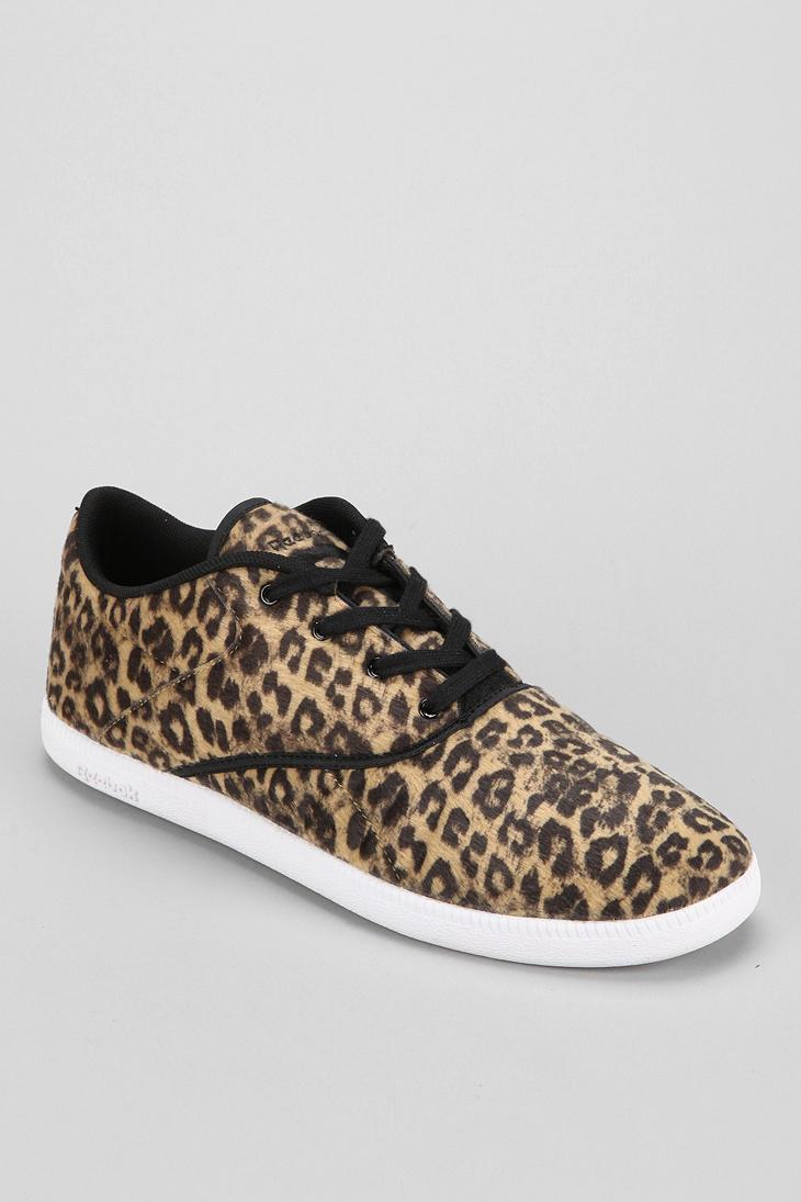 Lyst - Urban Outfitters Reebok Berlin Animal Print Sneaker in Brown 112c99bde