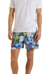 Vilebrequin French Marigold Moorea Swim Trunks - Lyst