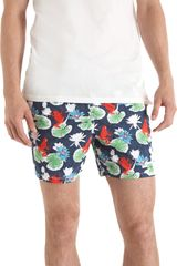 Vilebrequin Lotus Moorea Swim Trunks - Lyst
