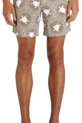 Vilebrequin Turtle Batik Swim Trunks - Lyst