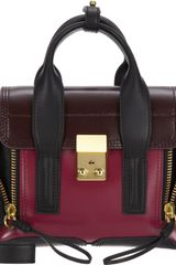 3.1 Phillip Lim Colorblock Mini Pashli Satchel - Lyst