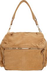 Alexander Wang Nubuck Jane Shoulder Bag - Lyst