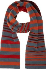 Armand Diradourian Reversible Striped Scarf - Lyst