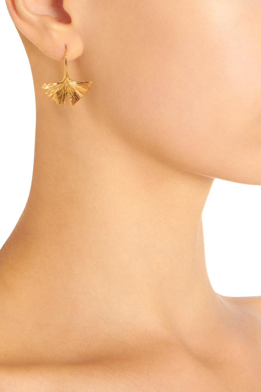 Tangerin earrings - Red Aur uNniJO7Pf