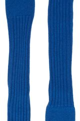 Barneys New York Extralong Fingerless Gloves - Lyst