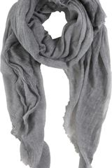 Barneys New York Lightweight Scarf - Lyst