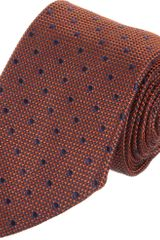 Barneys New York Silk Jacquard Tie - Lyst
