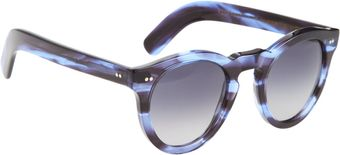 Cutler & Gross Thick Round Frame Sunglasses - Lyst