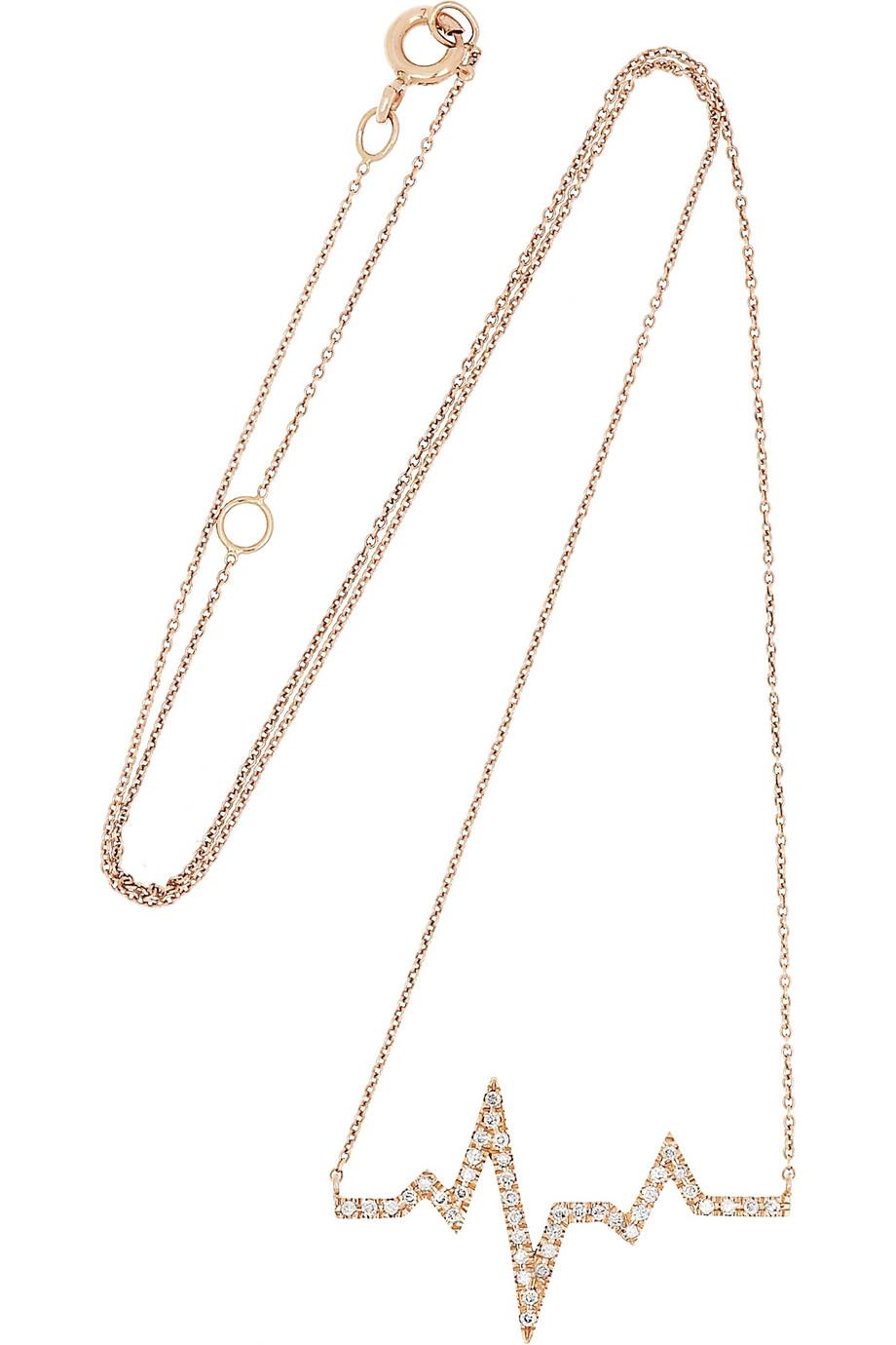 Diane Kordas 18-karat Gold, Diamond And Agate Necklace