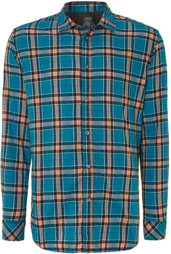 Diesel Long Sleeve Check Shirt - Lyst