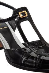 Fendi Colorblock Perforated Sandal - Lyst