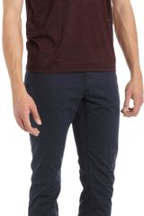 John Varvatos Snap Button Short Sleeve Henley - Lyst
