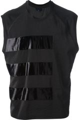 Lanvin Sleeveless Panelled Tshirt - Lyst