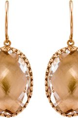 Larkspur & Hawk Topaz Lily Onedrop Earrings - Lyst