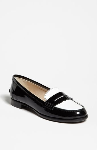 LK Bennett Vera Leather Loafer Flat - Lyst