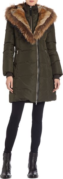 Mackage Furtrimmed Hooded Puffer Parka - Lyst