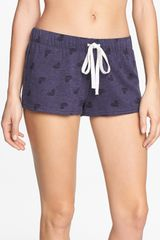 Make + Model Fleece Shorts - Lyst