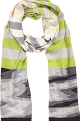 Missoni Striped Scarf - Lyst