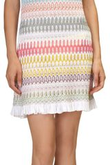 Missoni Flame Knit Mini Dress - Lyst