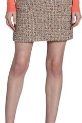 Proenza Schouler Tweed Mini Skirt - Lyst