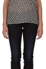 Rag & Bone Print Pocket Tee - Lyst