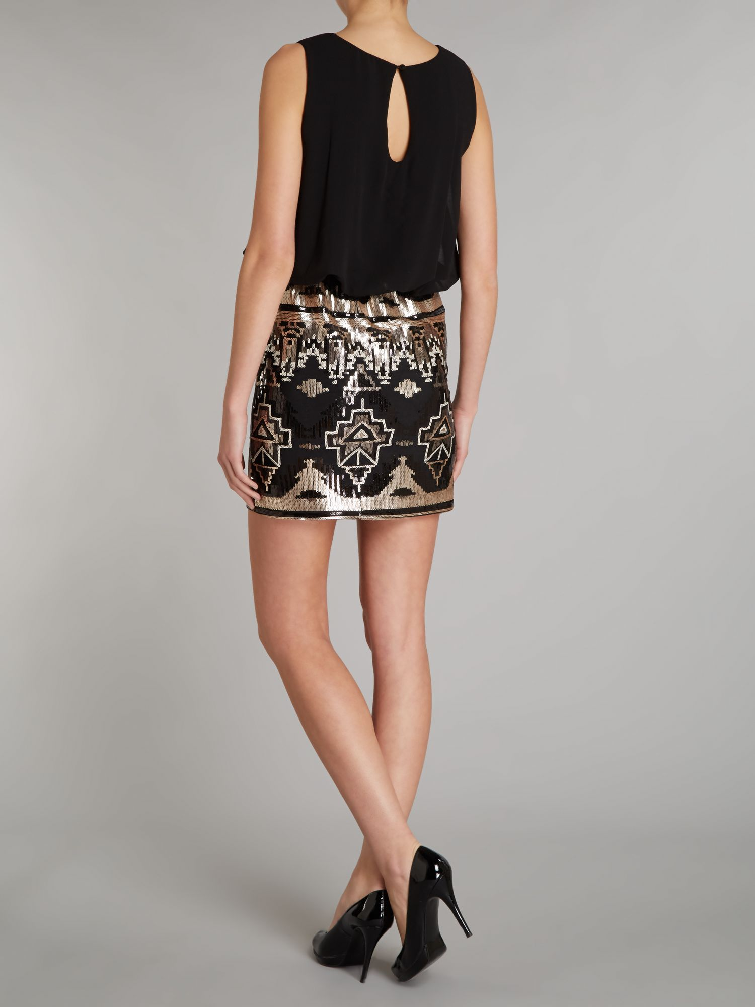Images of Sequin Skirt Dress - The Fashions Of Paradise