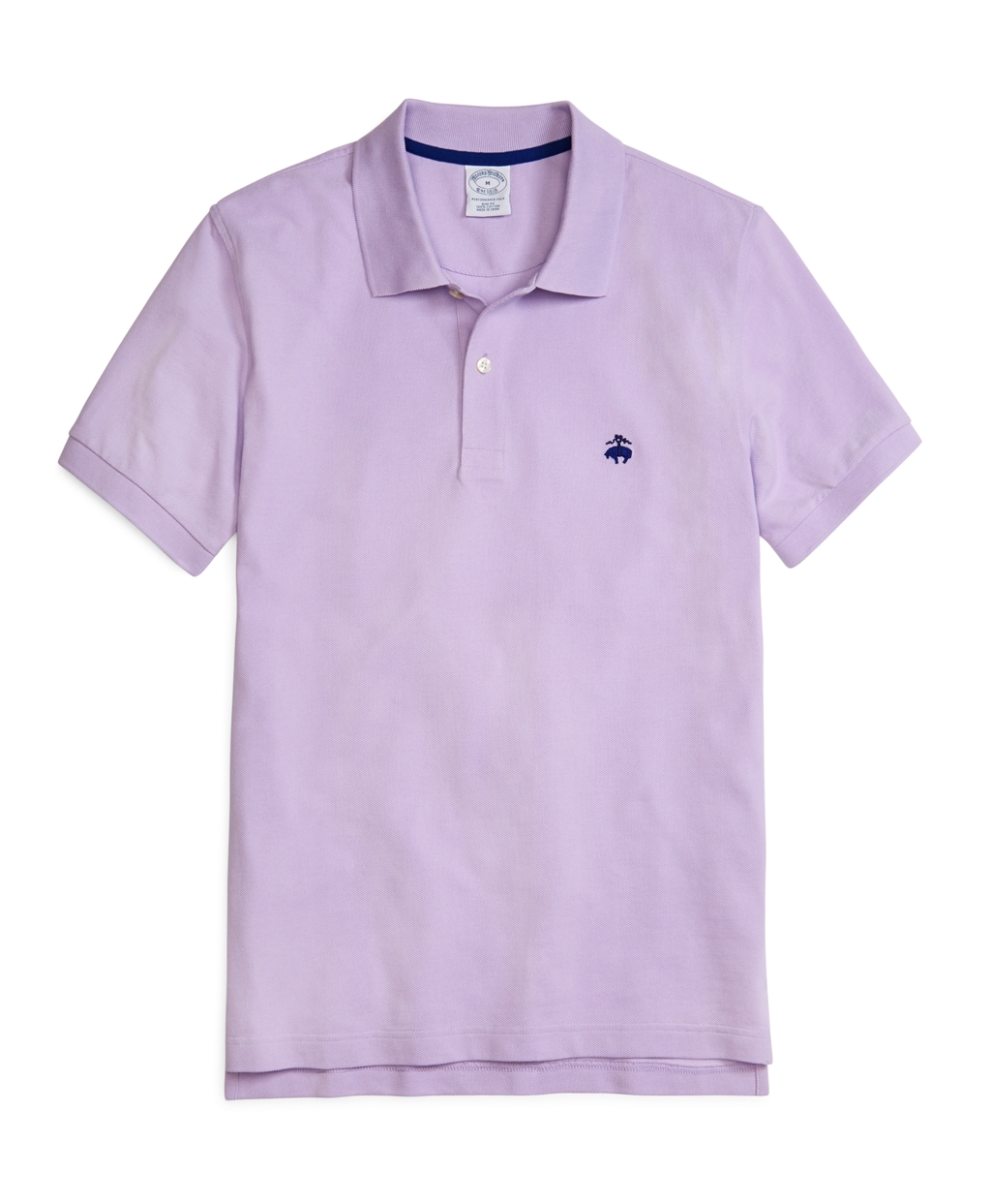 Brooks brothers golden fleece slim fit performance polo for Pastel colored men s t shirts