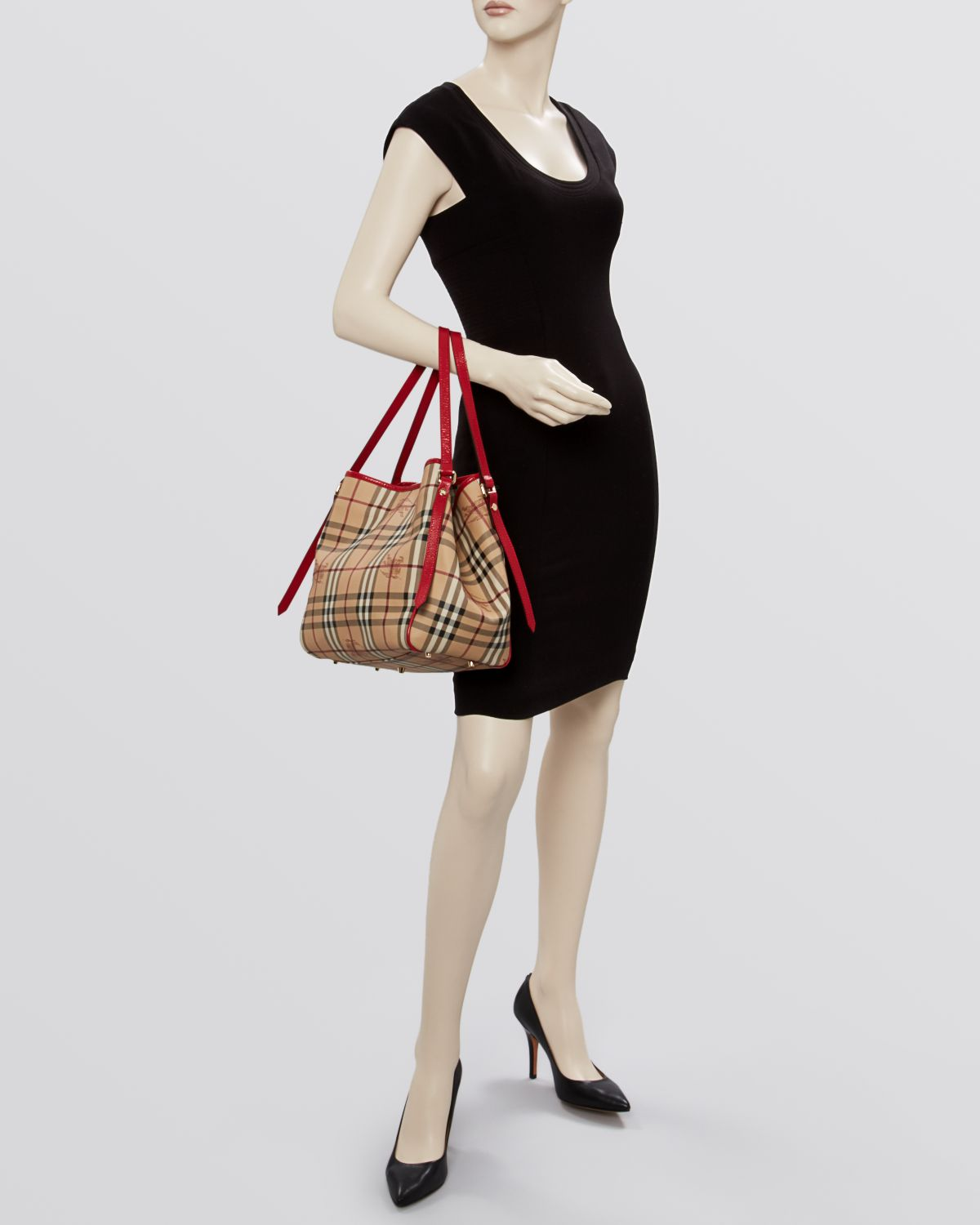 396d881f82b Gallery. Previously sold at: Bloomingdale's · Women's Burberry Haymarket