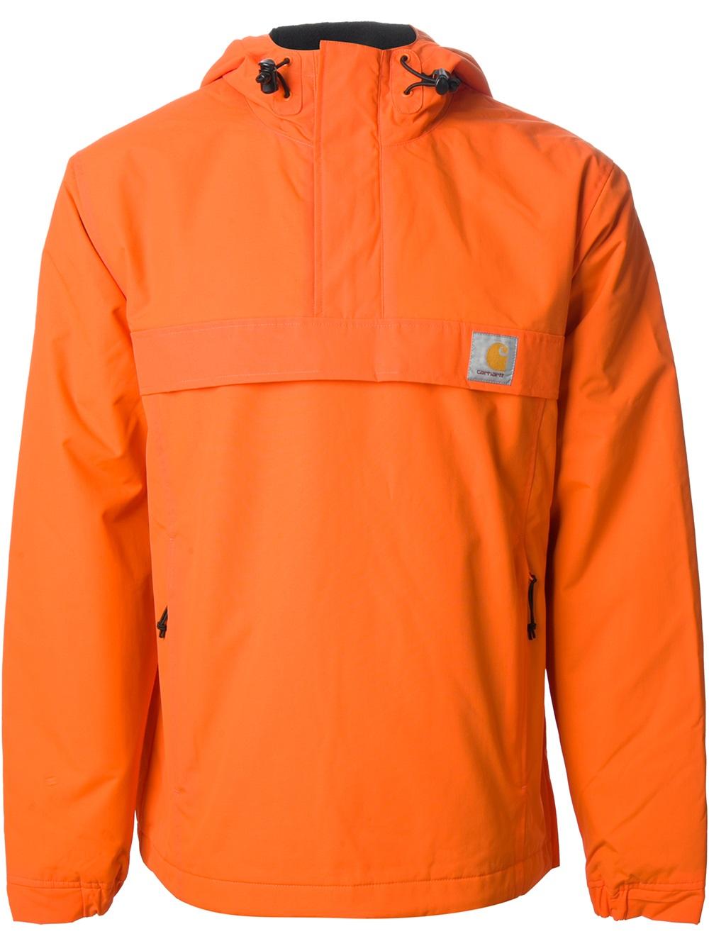 Carhartt Nimbus Pullover Jacket in Orange for Men | Lyst